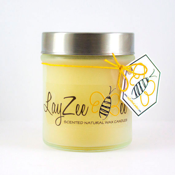 frosted-glass-beeswax-candles